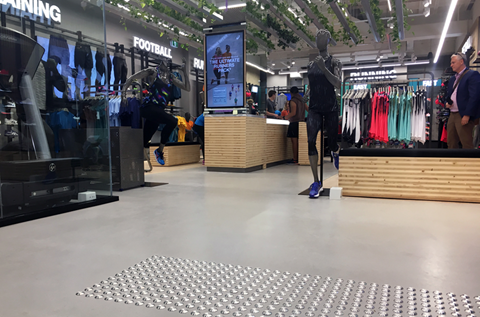 ASICS Brisbane Concept Store Installs Fast Curing and Decorative Floor