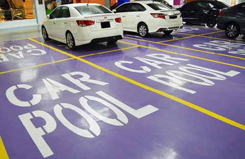 KL Gateway Chooses Specialist Resins for Car Park Floor