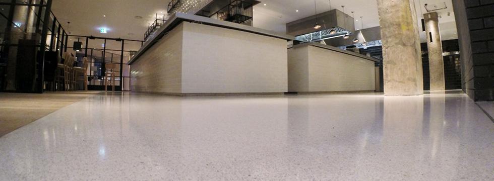 Epoxy Pumma Terrazzo Flooring Mondéco Finishes
