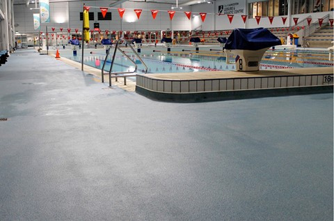 Specialist Aquatic Flooring Installed at Launceston Leisure Centre