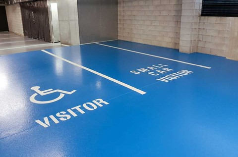 High Performance Floors Refurbish Highgate Hall Car Park