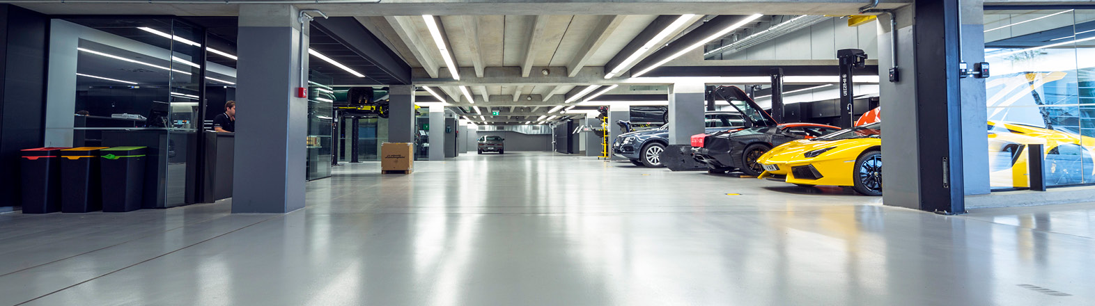 Tough Flooring for the Automotive Sector