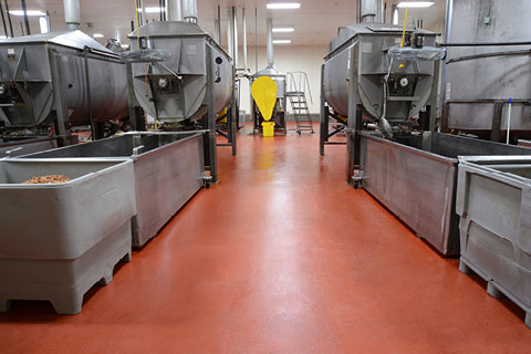 The Importance of Resin Flooring within the Safe Design of a Food Processing Facility