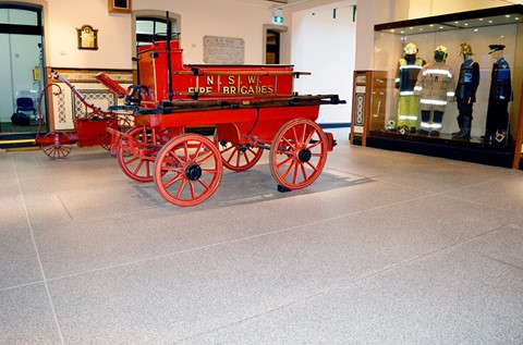 Flowcrete Helps Heritage Fire Station Site Find The Perfect Floor