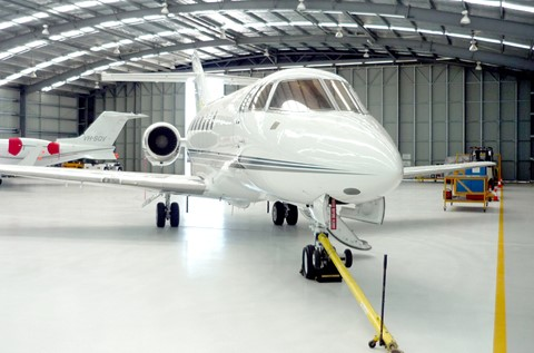 Flowcrete Australia Takes Off at ExecuJet Hangar