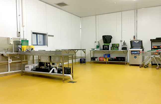 Flowfresh Sealer can create a floor tailored to food industry demands.