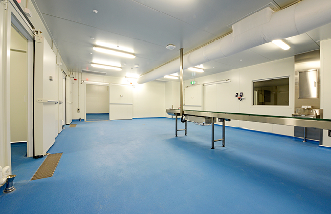 Made from cementitious polyurethane, Flowfresh is a durable and reliable flooring material that is able to withstand abusive environments without failing.