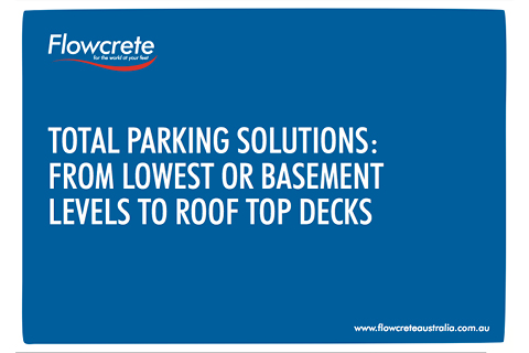 Total Parking Solutions: From Lowest or Basement Levels to Top Roof Decks