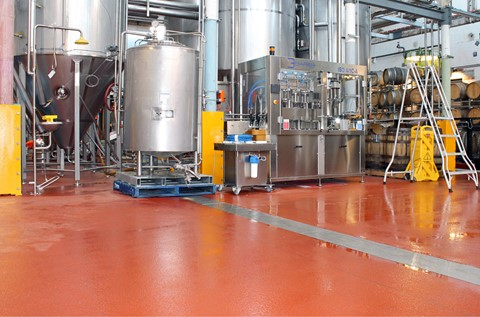 Flowcrete Brews up a Floor for the White Rabbit Tour