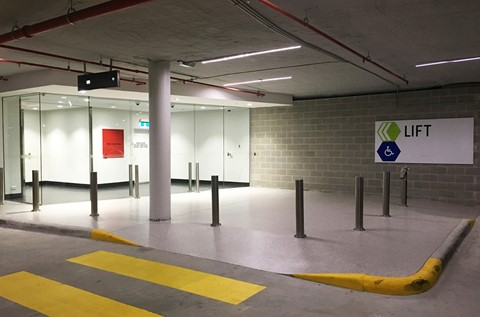 Perth Shopping Centre Revitalises Car Park Entrance with Fast Curing Floor