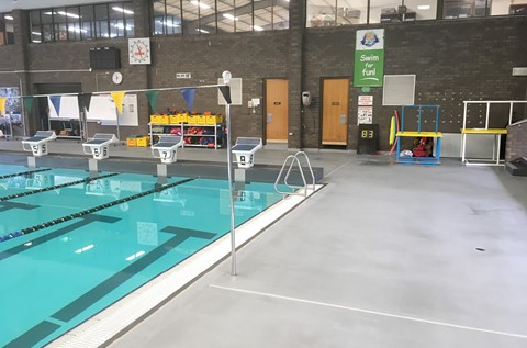 New Pool Surrounds Flooring Revitalises Aquatic Centre