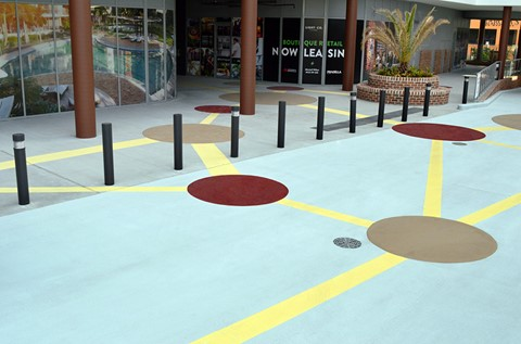 Creative Car Park Floor Created With Deckshield Rapide